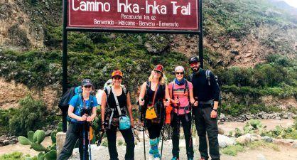 Chemin de l'Inca 4 jours