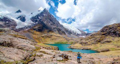 Trek de l'Ausangate via la Montagne ARC-EN-CIEL – 5 jours